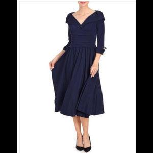 NWT Jessica Howard Portrait Collar Party Dress 8P
